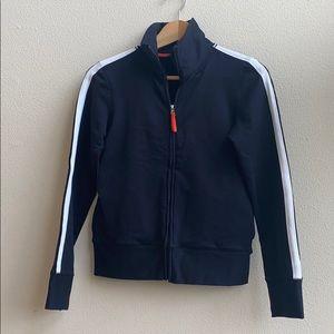 Banana Republic Black Full-Zip Jacket Sz S